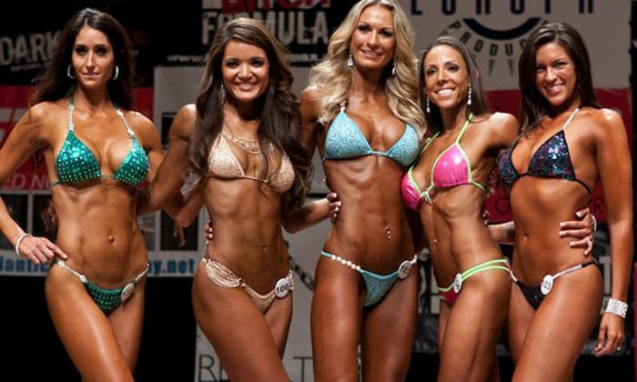 bikini competitor workout