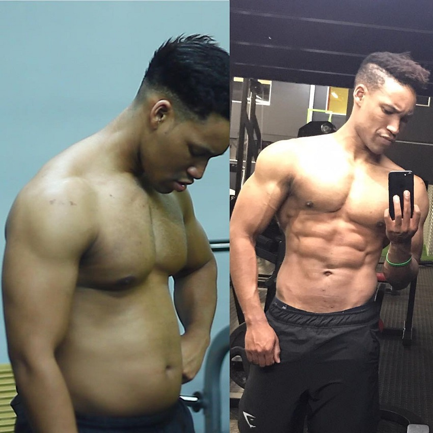 Mike Diamonds' transformation from overweight to fit