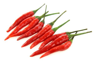 Chili peppers capsaicin