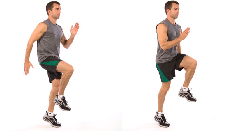 High-knee-sprint-exercise