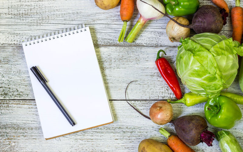 Recipe book for meal planning mistakes