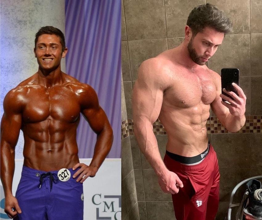 Daniel Zukich's body transformation before-after