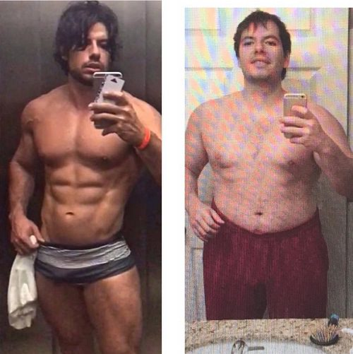 Lucas Giovani's transformation before-after