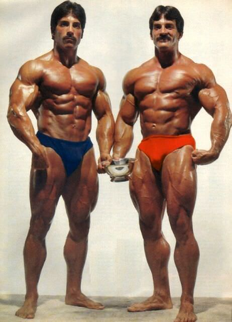 Ray Mentzer and Mike Mentzer posing together