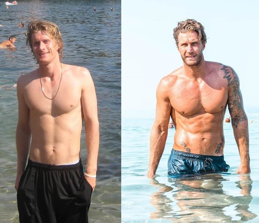 Matt Fox fitness transformation before and after cancer