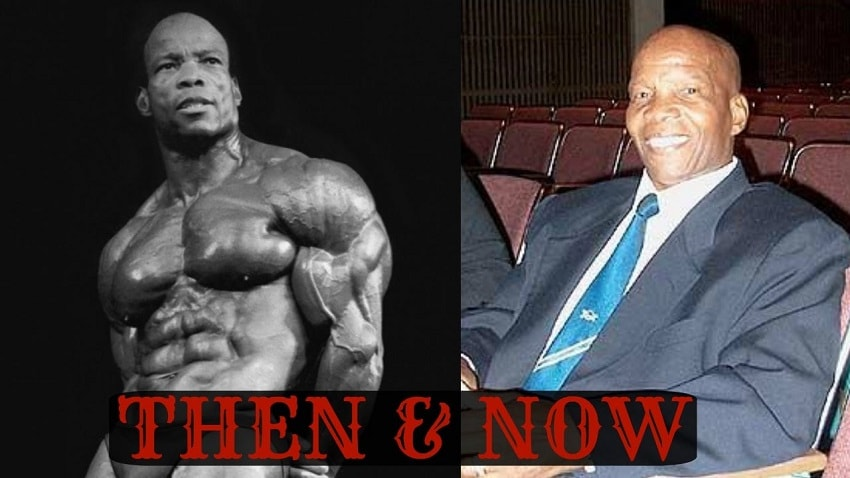 Albert Beckles then and now