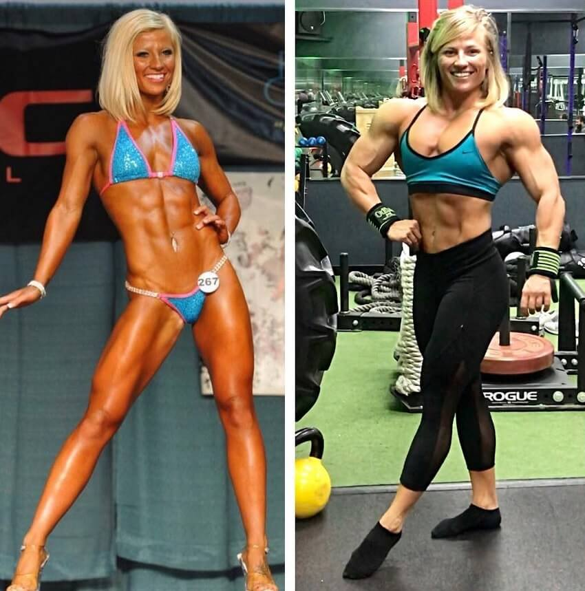 Brooke Walker before-after transformation