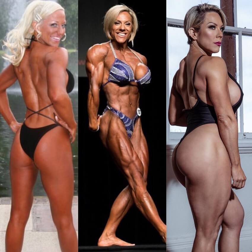 Carly Thornton body transformation over the years