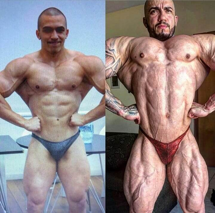 Matheus Donaire bodybuilding transformation before-after