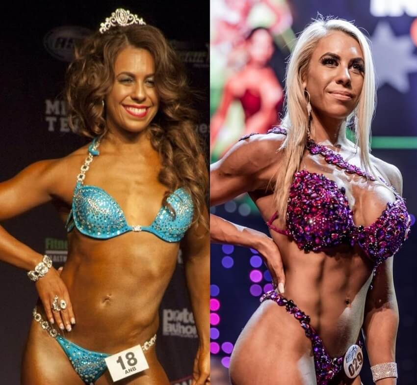 Tamara Meyer fitness transformation before and after