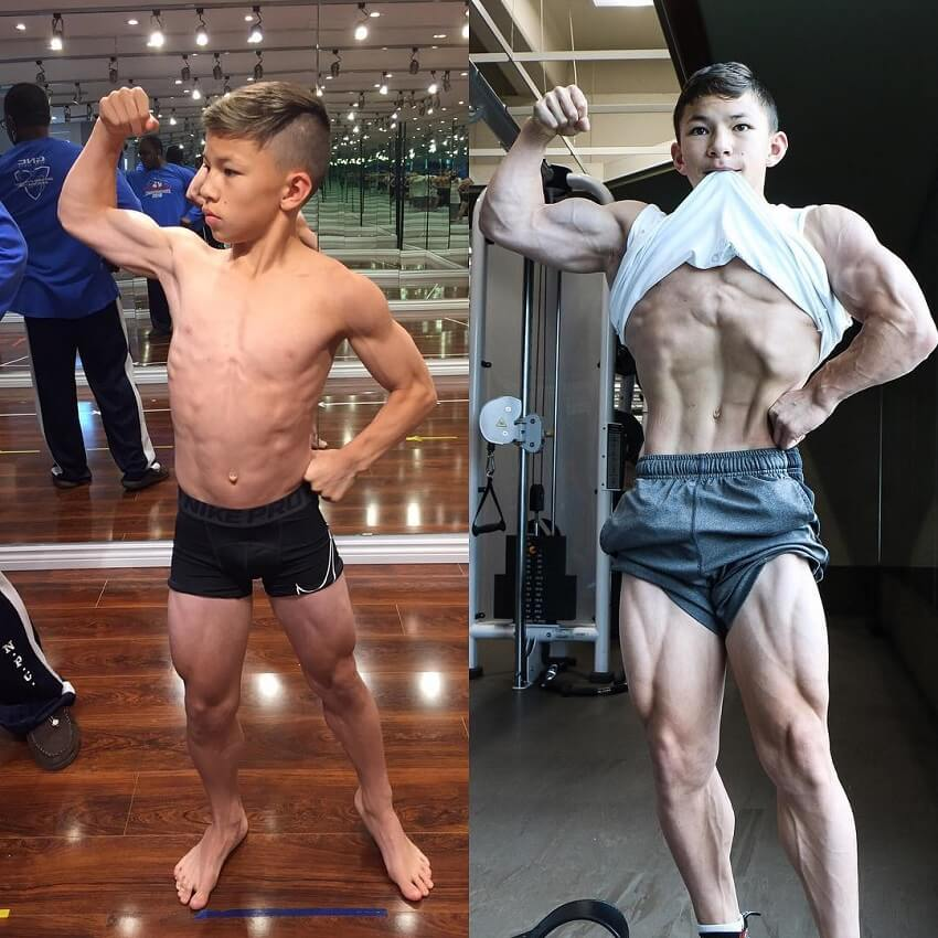 Tristyn Lee transformation before-after