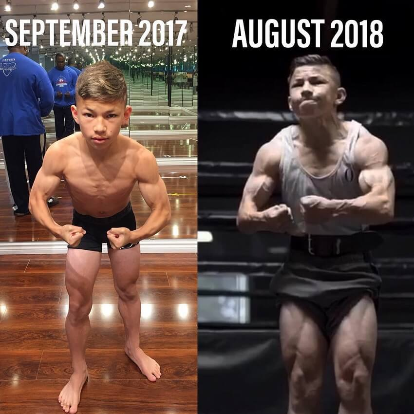 Tristyn Lee body transformation before-after