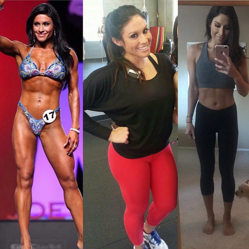 Felicia Romero before and after photo