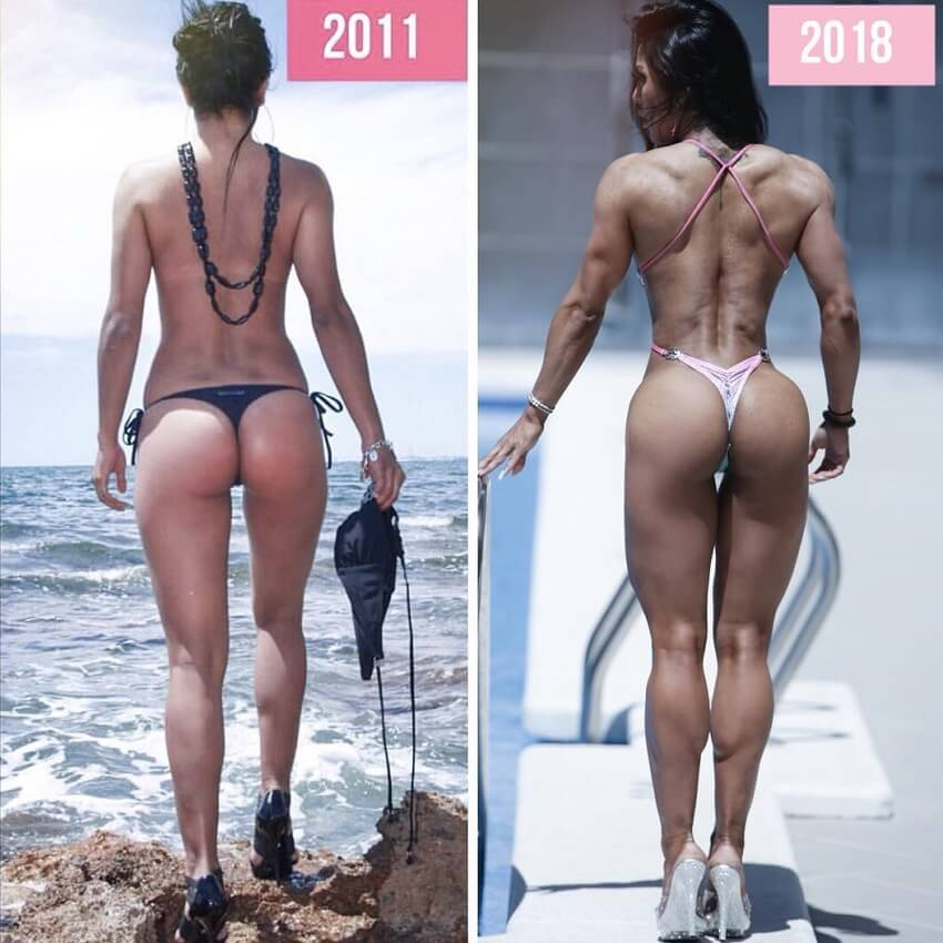 Maria Paulette fitness transformation before-after
