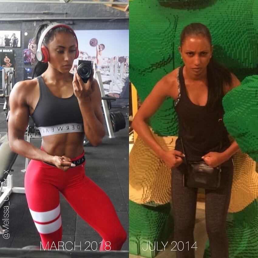 Melissa Carver before-after body transformation