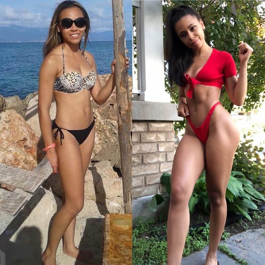 Kali Natesa body transformation, before and after fitness