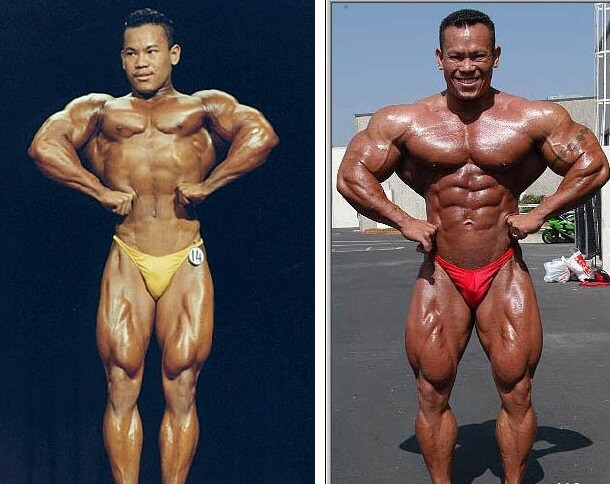 Kris Dim bodybuilding transformation before-after