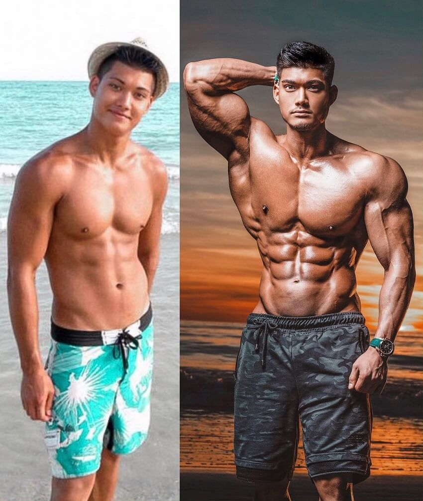 Nicolas Iong's fitness transformation