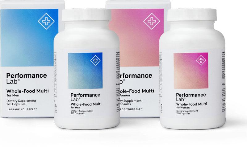 Bottle of Performance Lab Men's Multivitamin
