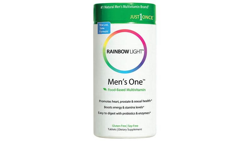 Bottle of Rainbow Light® Men's One™ Multivitamin