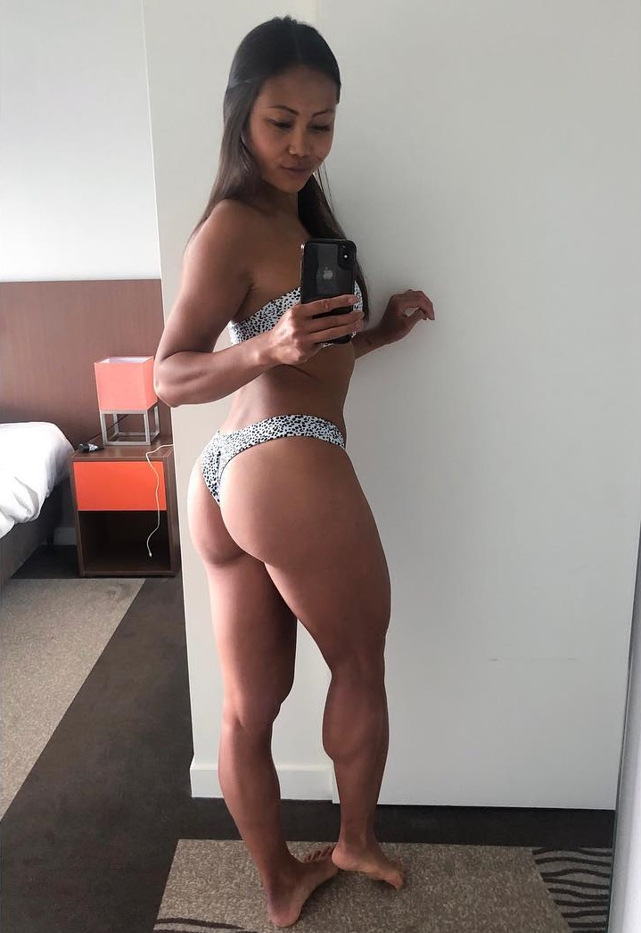 Jayne Lo showcasing her awesome glutes