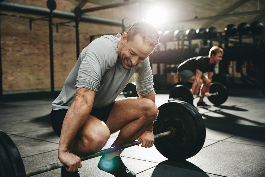 lifting weights boosts testosterone