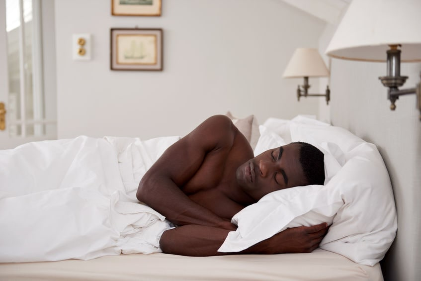 Getting more sleep increases testosterone