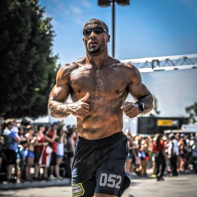 Neal Maddox in a crossfit competition