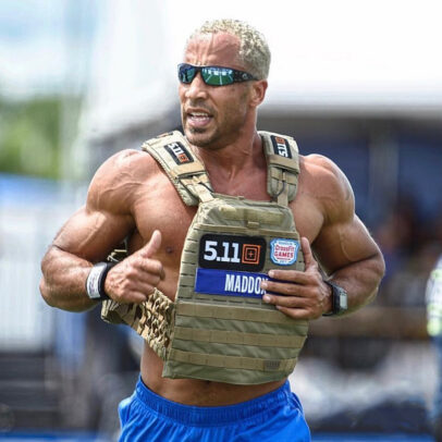 Neal Maddox in CrossFit Games