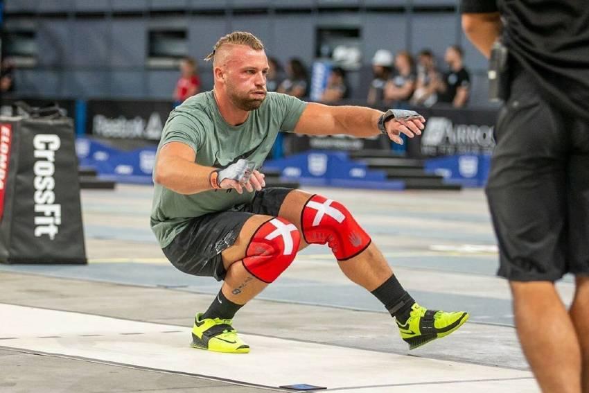 Rasmus Wisbech Andersen competing in CrossFit
