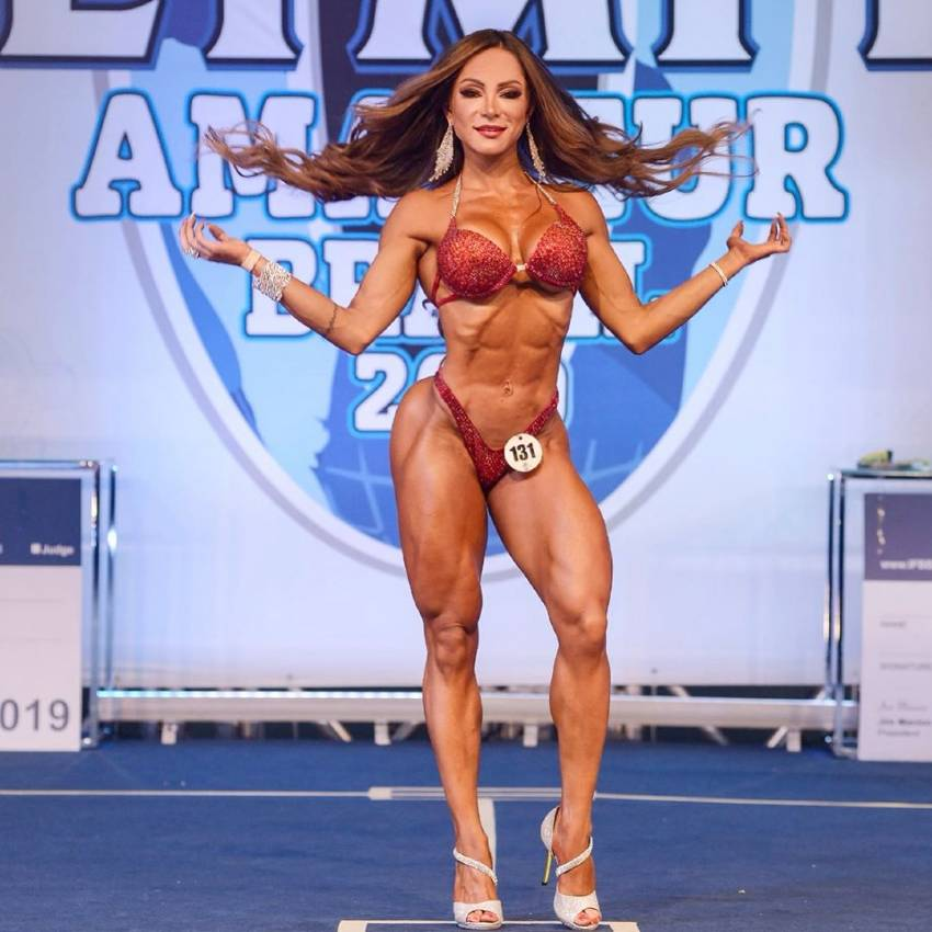 Susana Rodriguez at the Olympia Amateur Brazil Stage