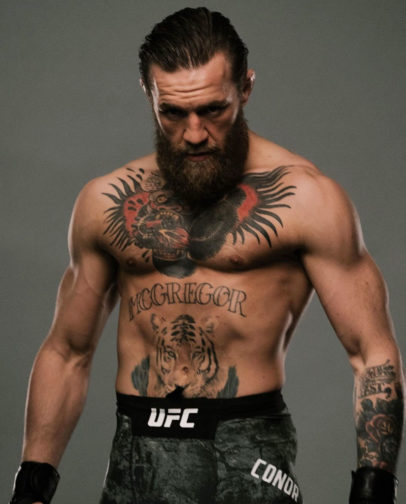 Conor McGregor standing