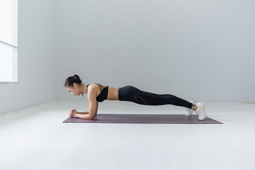 Plank HomevWorkout