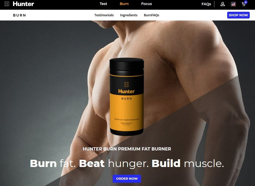 Hunter Burn Website